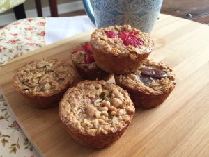 Almond Butter Oatmeal Cups