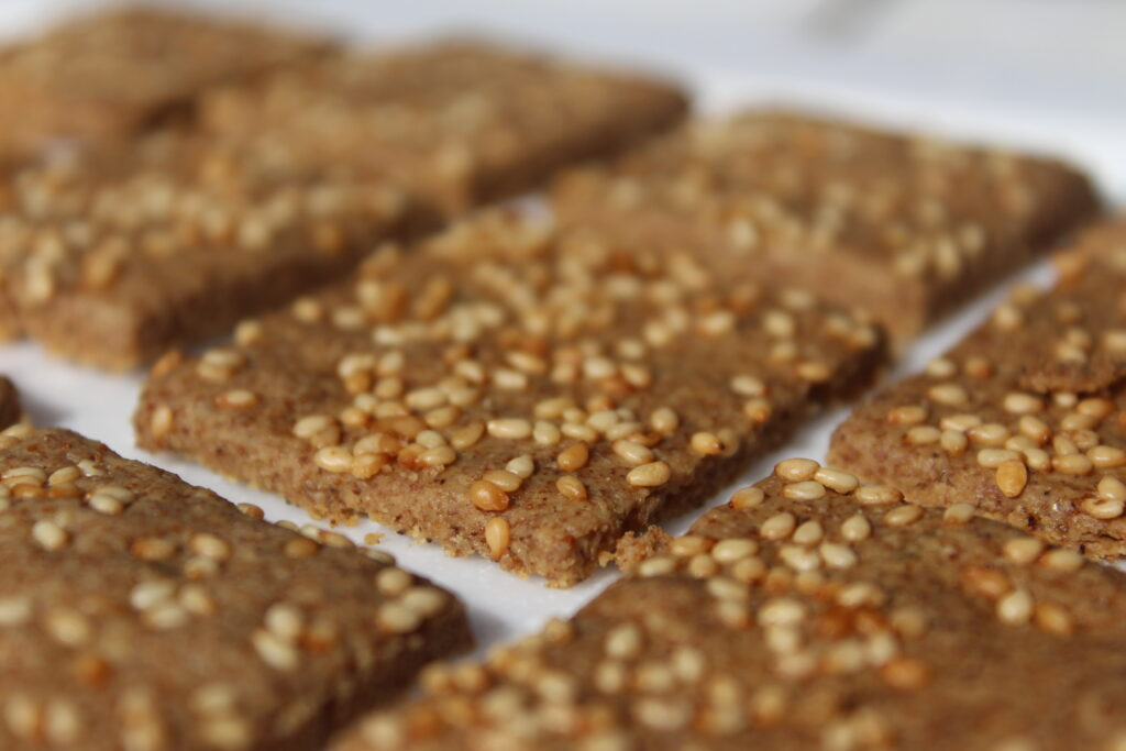 Tahini Crackers