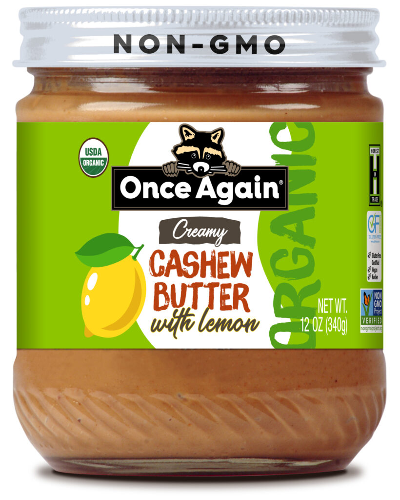 Cashew Butter with Lemon